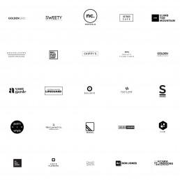 25 Free Minimalistic Logo Templates